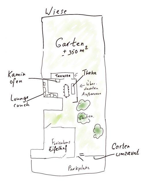 hundefreundliches Ferienhaus mit umzäunten Garten